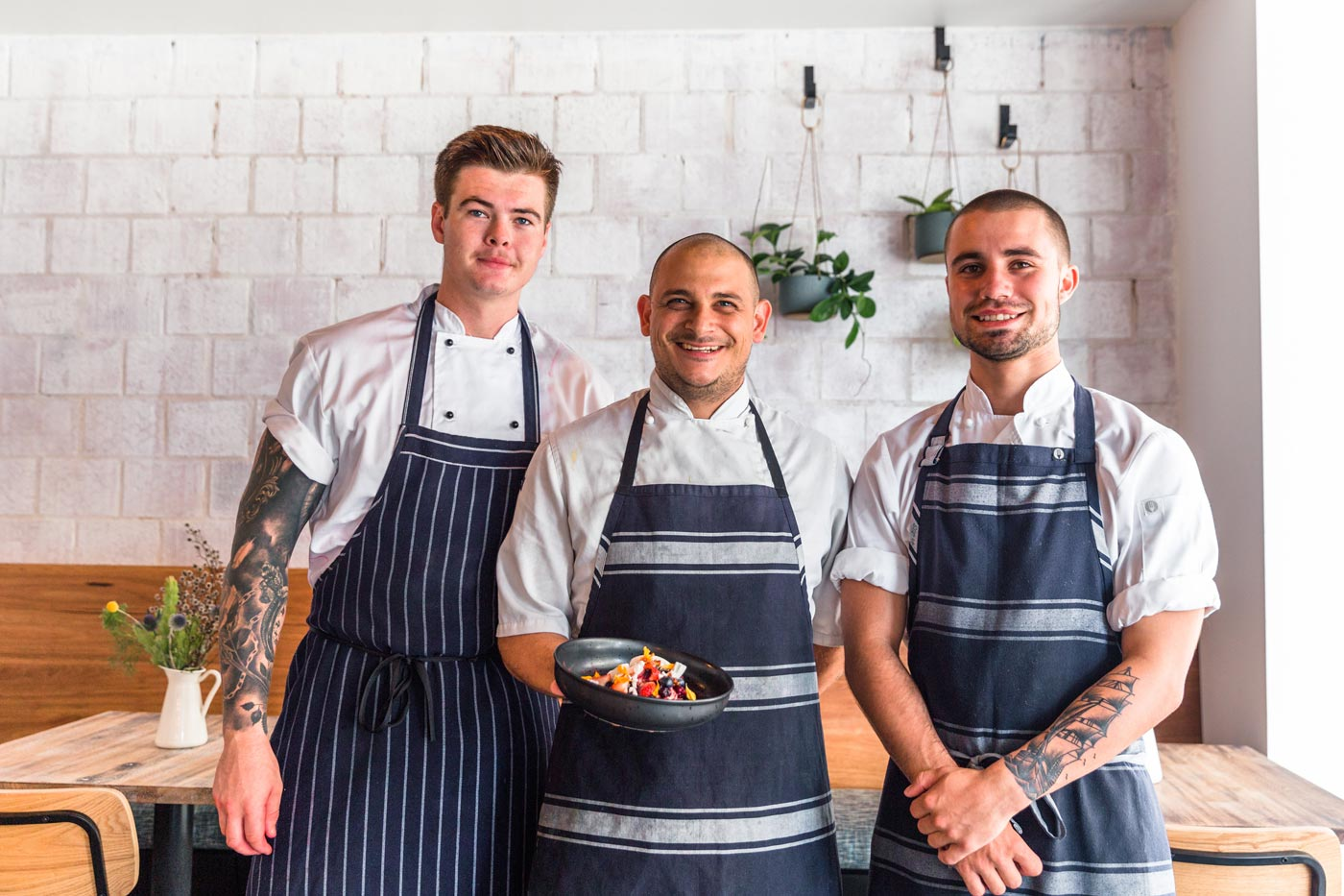 chefs at Mockingbird Cafe Newcastle